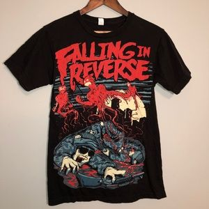 FALLING IN REVERSE Graphic T-Shirt SMALL GUC!!